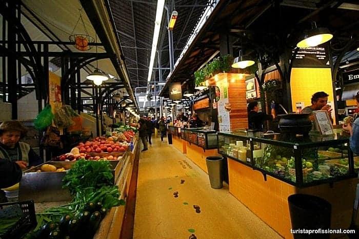 Mercados gastronômicos de Lisboa