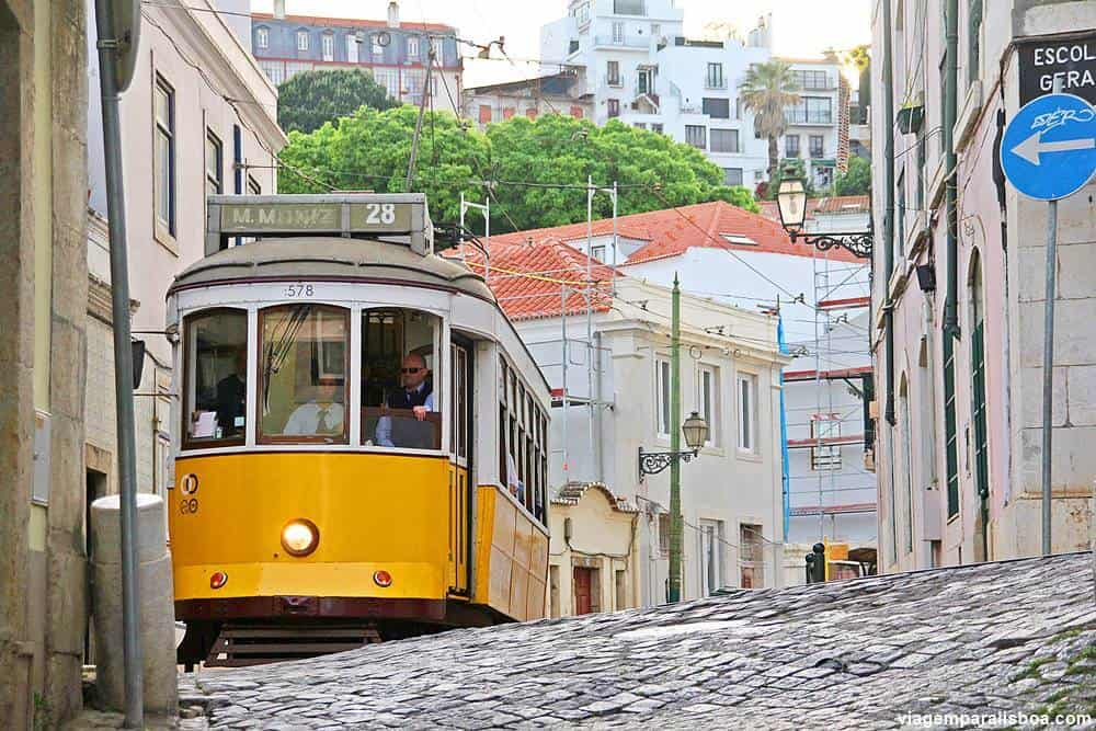 elétrico 28 Lisboa