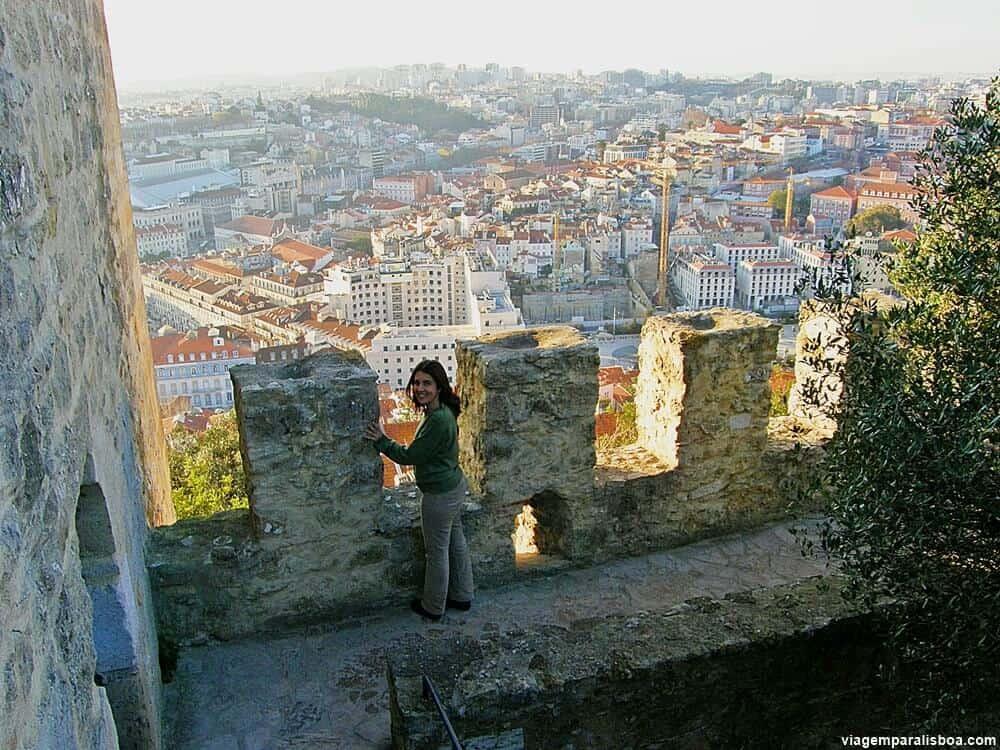 Vista da cidade de Lisboa do Castelo de São Jorge