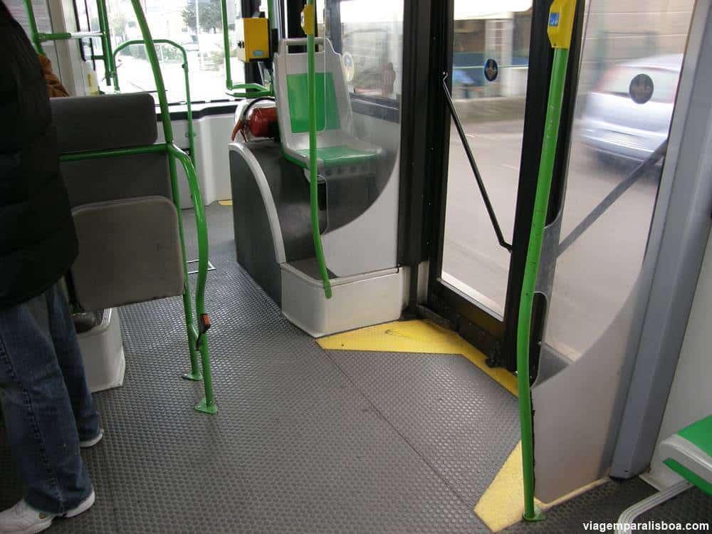 Ônibus em Lisboa