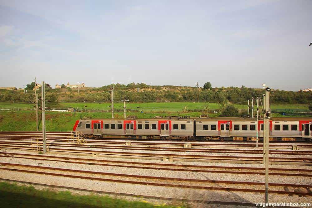 Trens em Lisboa e Portugal