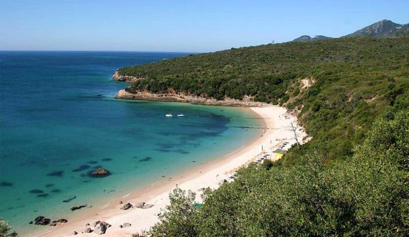 Praia de Galápos