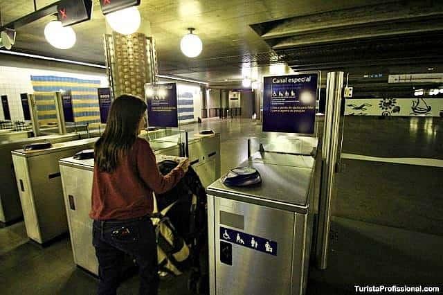Acessibilidade no Metrô de Lisboa