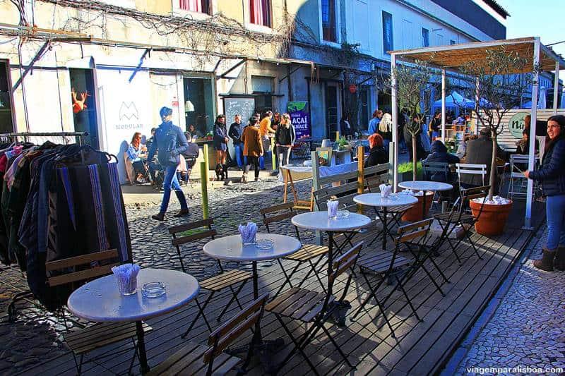 café em Lisboa LX Factory