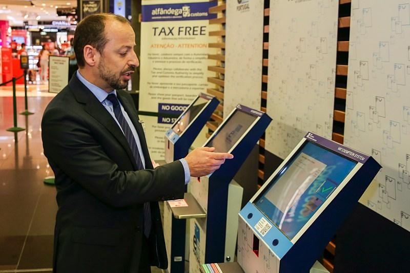 e-tax free em Portugal