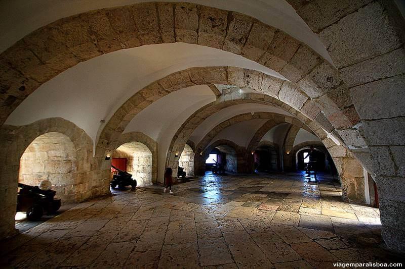 Torre de Belém por dentro