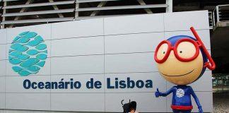 Oceanário de Lisboa com crianças