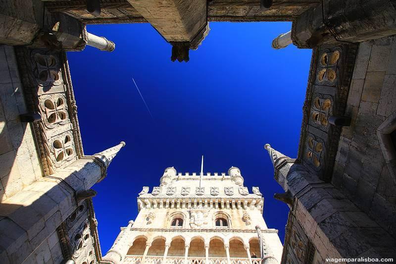 por dentro da Torre de Belém