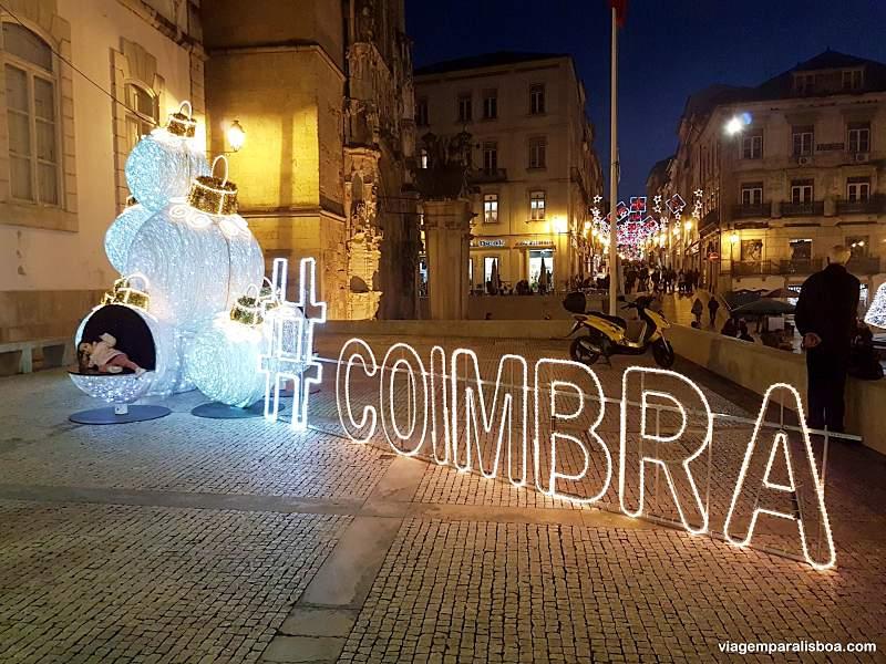 Como chegar em Coimbra
