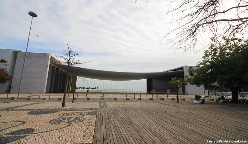 Pavilhão de exposiões no Parque das Nações em Lisboa
