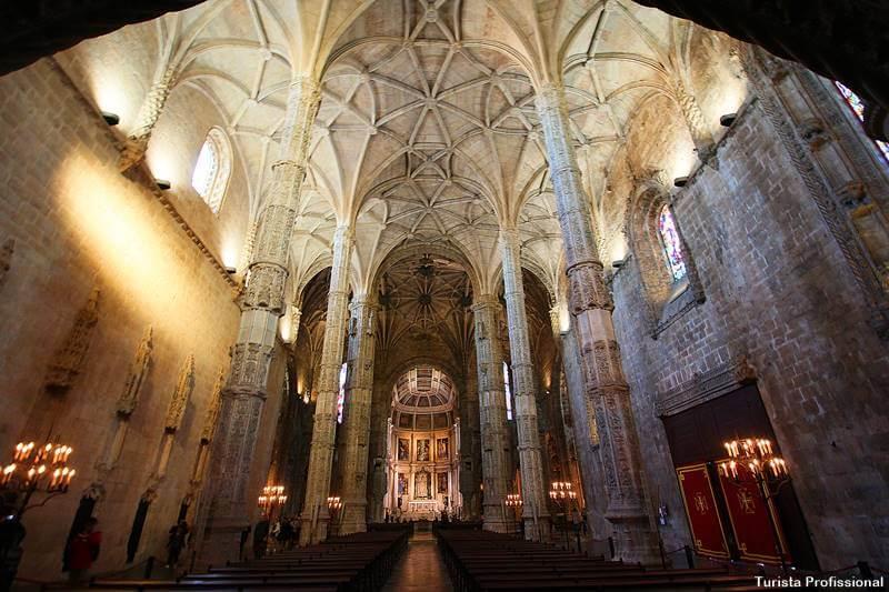 Igreja do Mosteiro dos Jerônimos em Lisboa