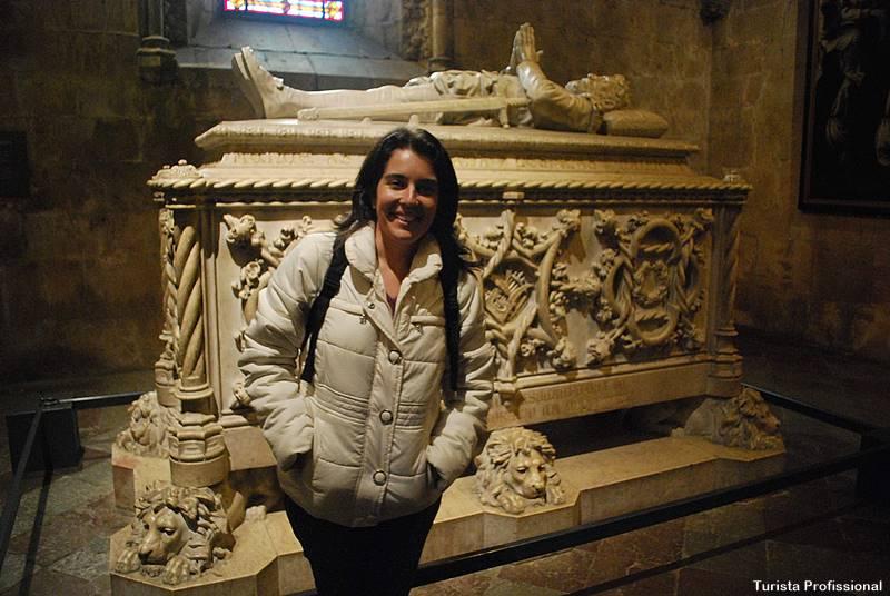 Túmulo Vasco da Gama no Mosteiro