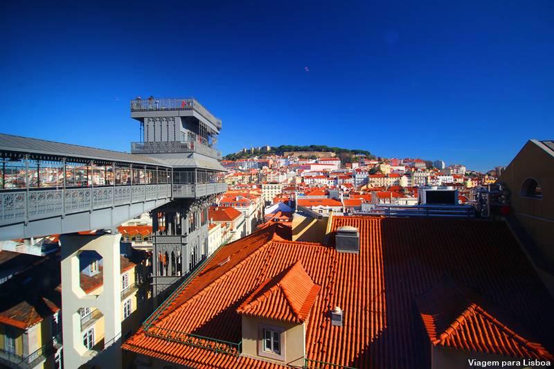 Elevador de Santa Justa Chiado Lisboa