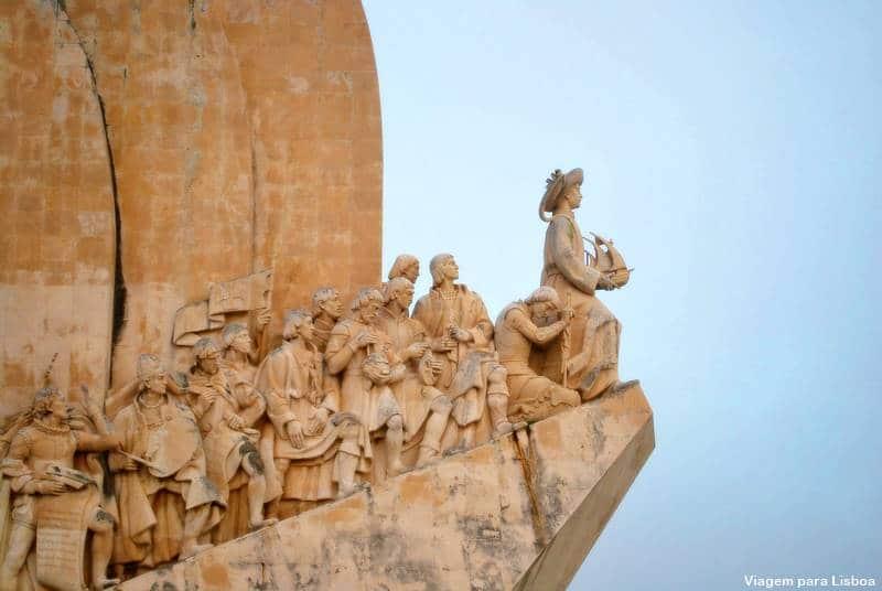 Esculturas no Padrão dos Descobrimentos