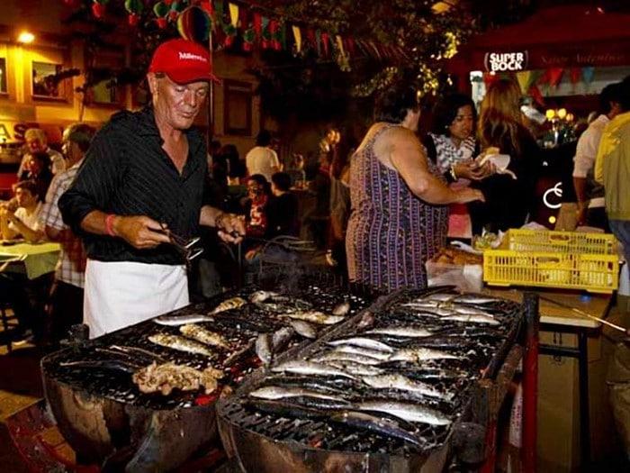 sardinhas em Lisboa