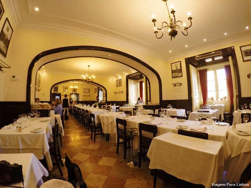 Café Martinho da Arcada em Lisboa
