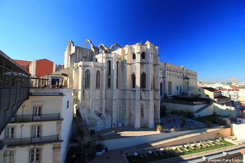 o que fazer em Lisboa: convento do carmo