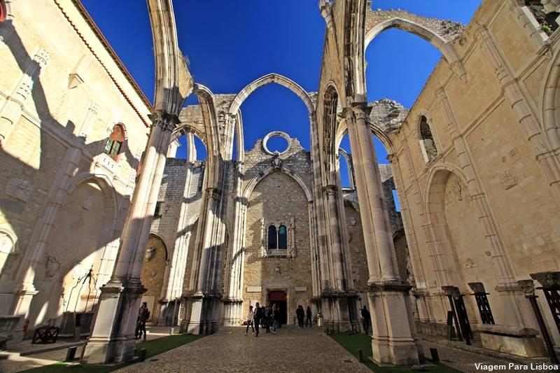 Igreja do Convento do Carmo em Lisboa