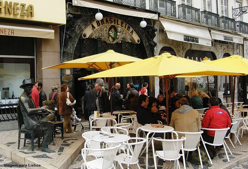 o que fazer em Lisboa Cafeteria A Brasileira