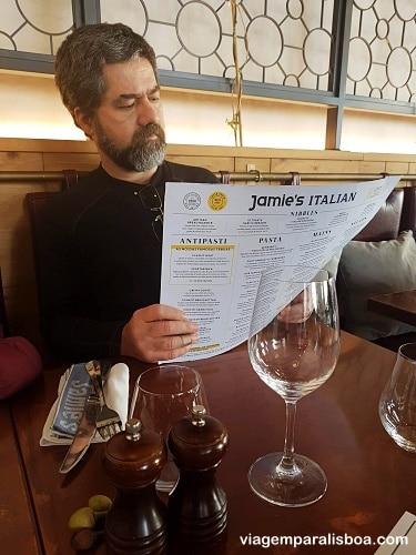 Jamie's Italian em Lisboa
