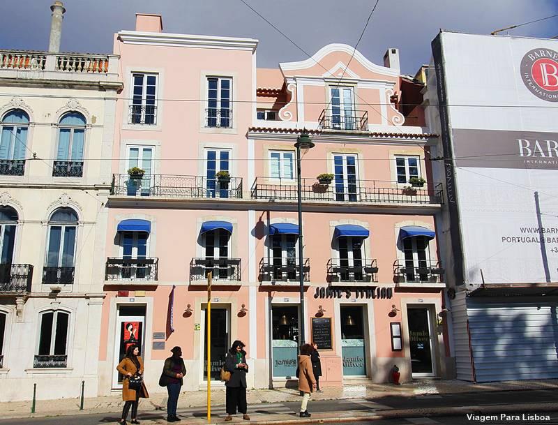 Restaurante do Jamie Oliver em Lisboa