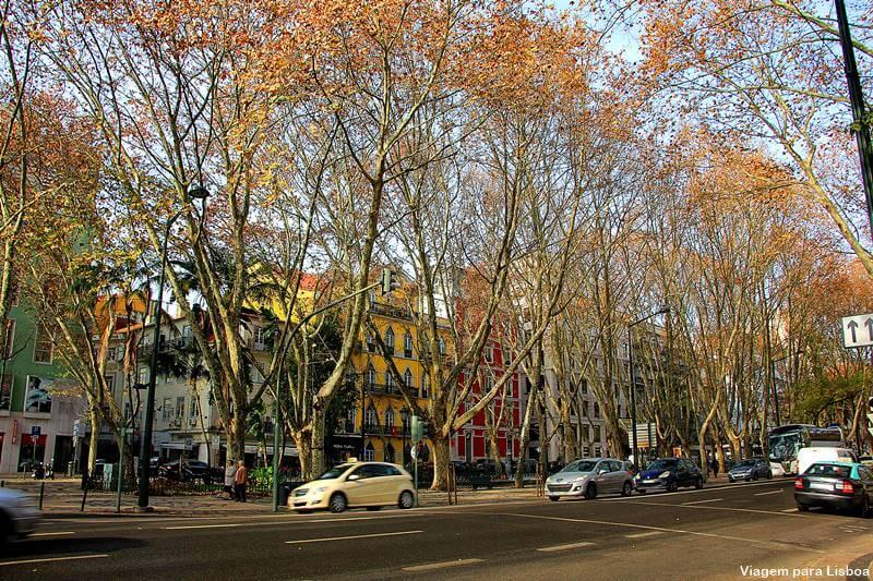 Hotel na avenida da Liberdade em Lisboa