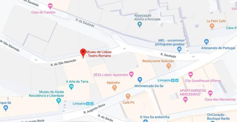 museu do teatro romano em Lisboa