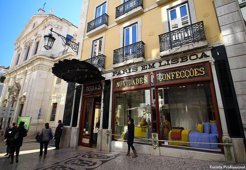 lojas com história no chiado