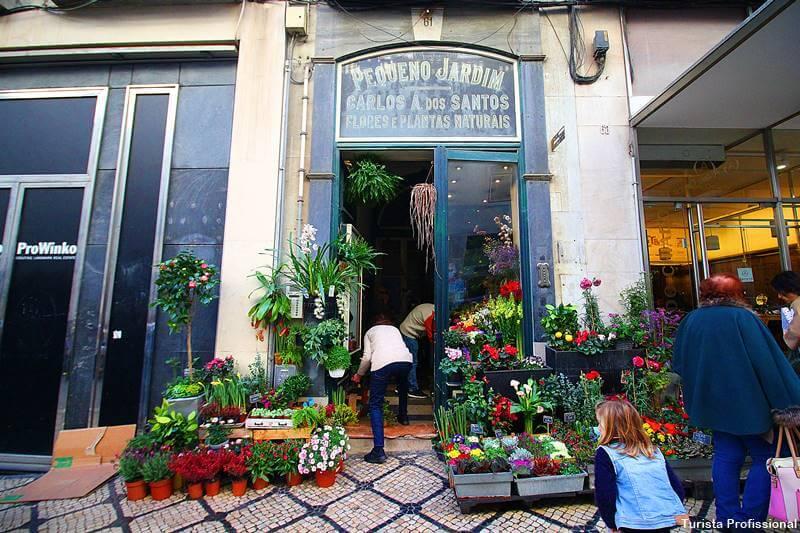 floricultura em Lisboa no Chiado