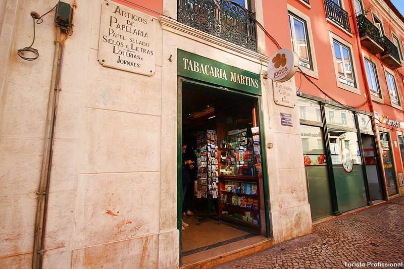 lojas antigas em Lisboa Chiado