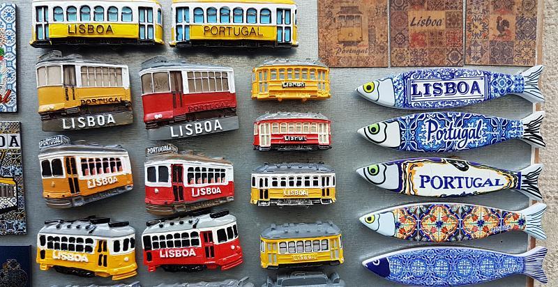 lembrancinhas de Lisboa