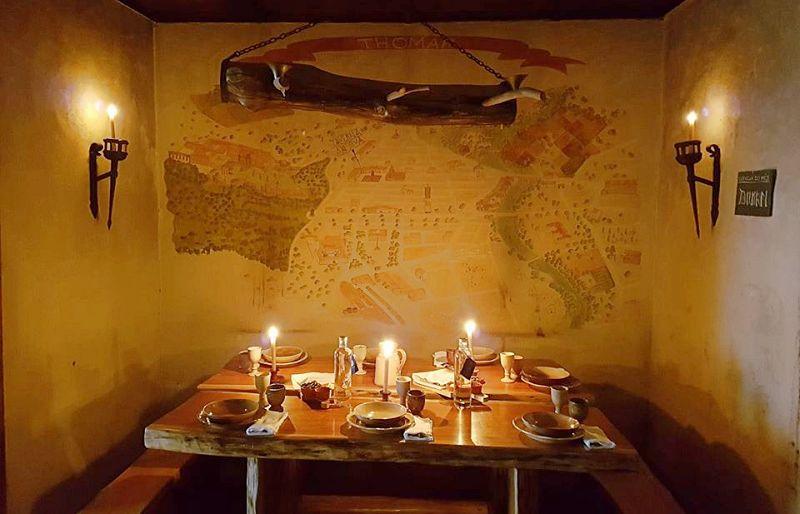 restaurante medieval em Portugal